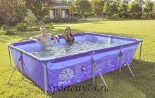 Бассейн Jilong Restangular Steel Frame Pools JL016102NG